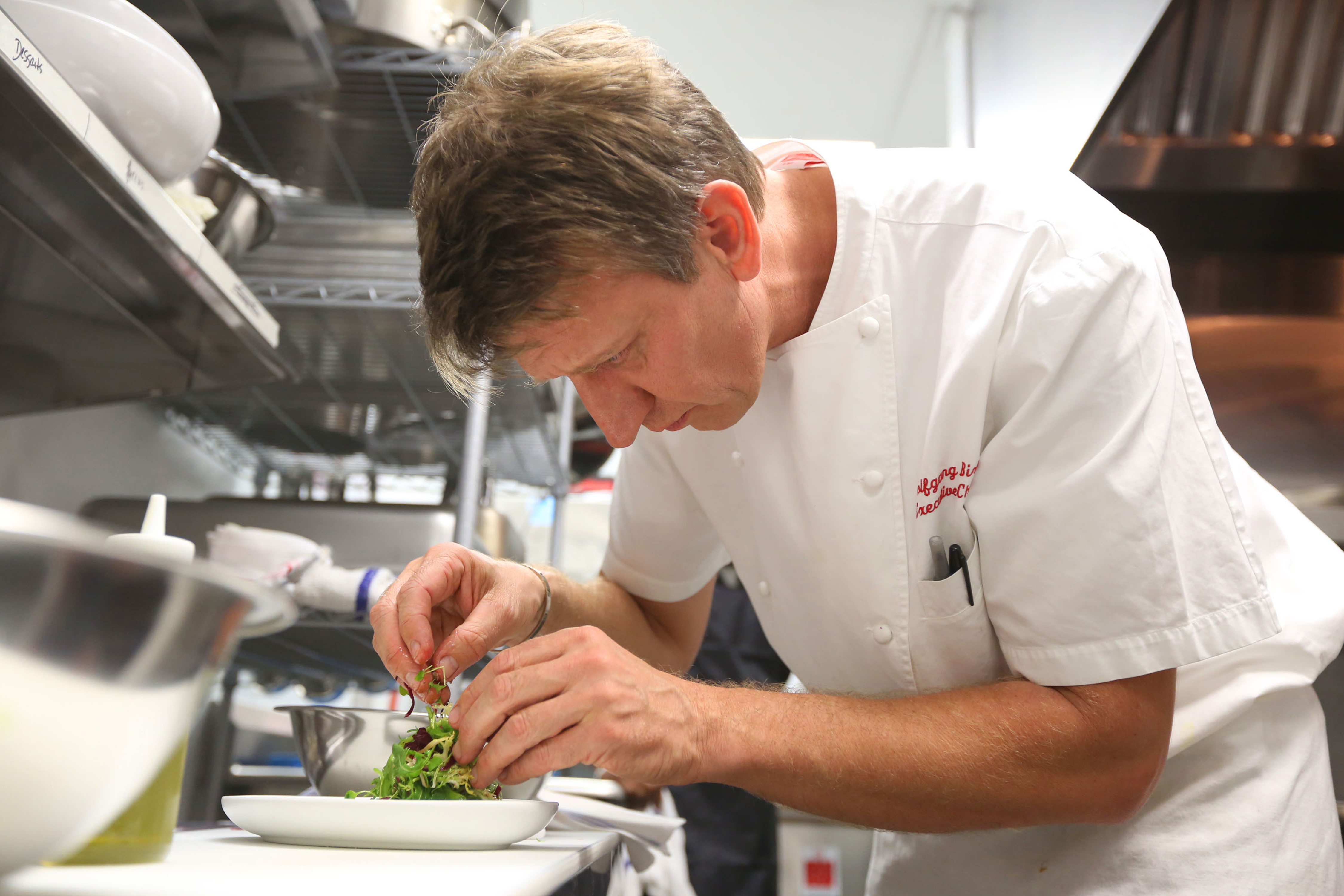 Chef Wolfgang Birk in Miami Florida