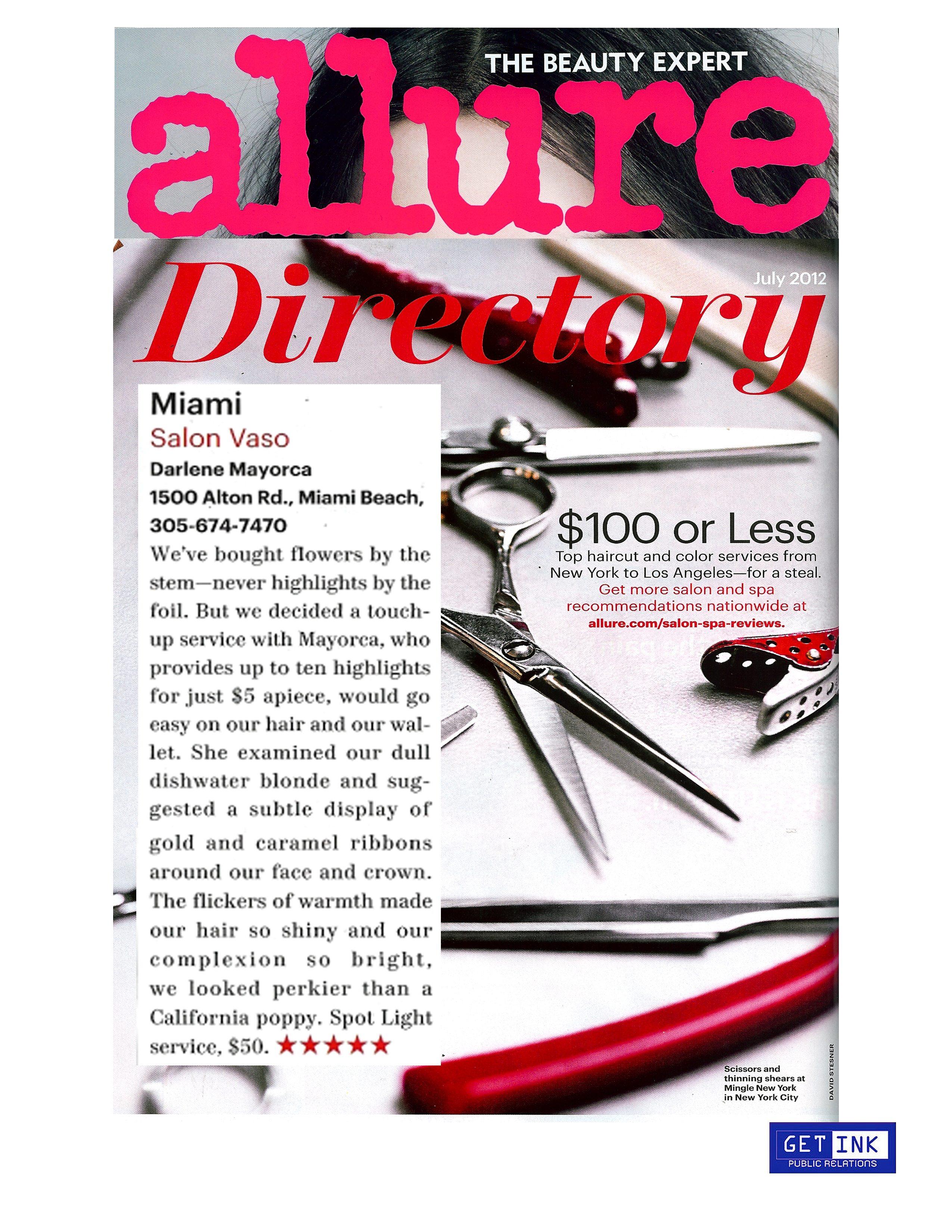 Allure Magazine 6.21.12