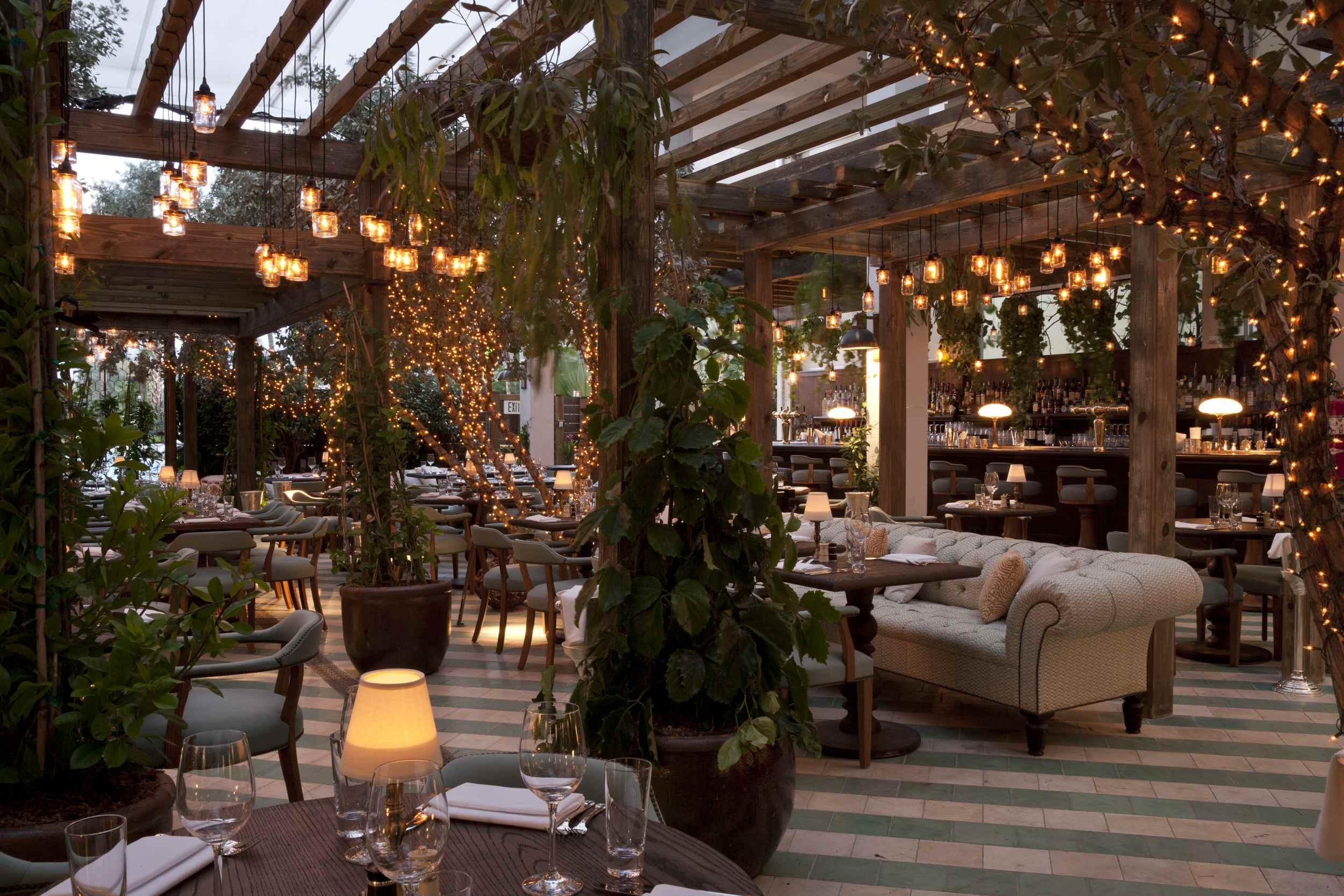 Cecconi's restaurant in Miami