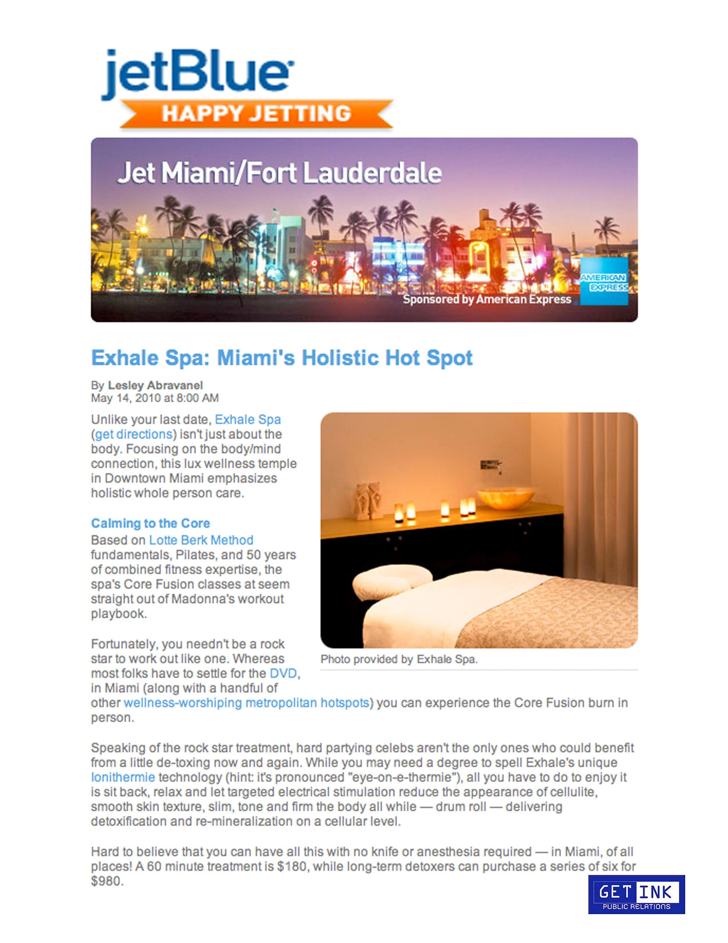 JetBlue.com 5.14.10