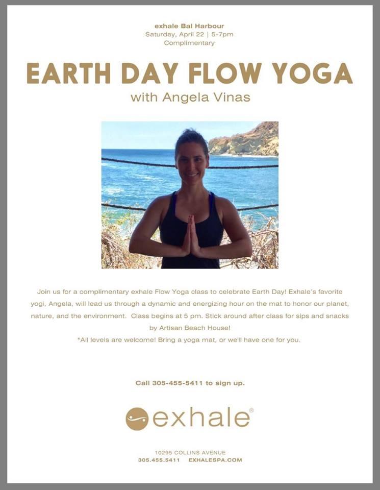 Earth Day Flow Yoga