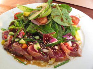 Sushi Den Tuna Tataki Salad