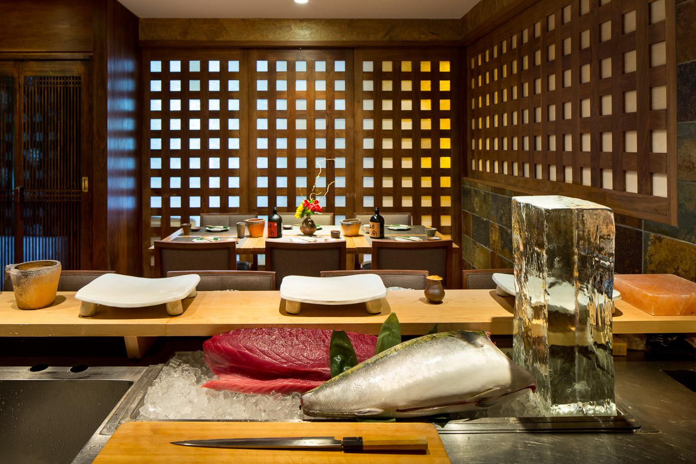 Sushi Den Denchu Room