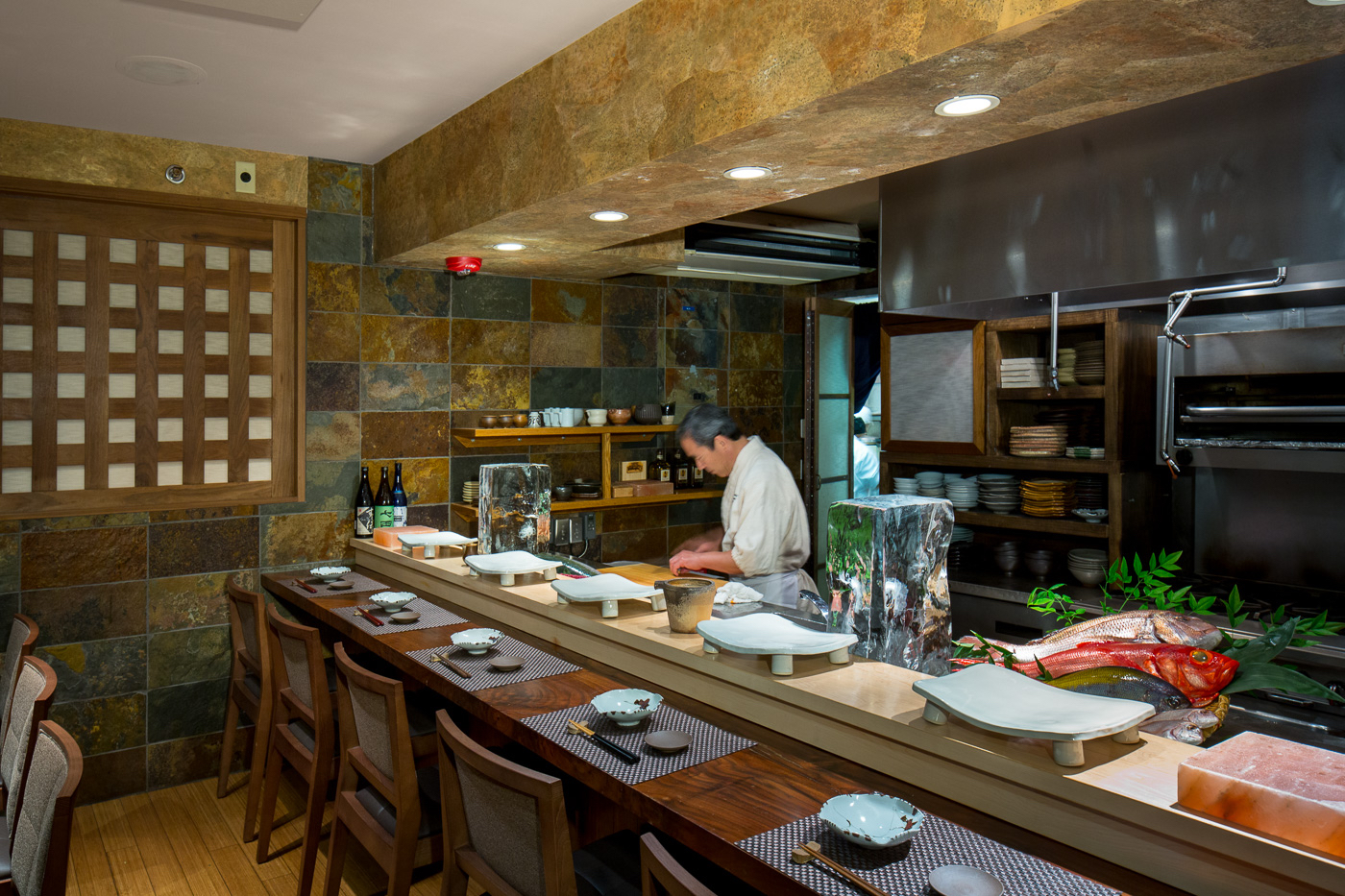 Sushi Den Master Chef Toshi Kizaki